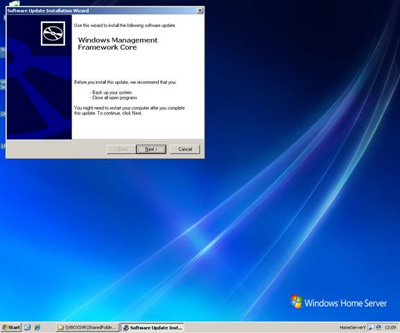 Installing PowerShell on Windows Home Server – RichHewlett com