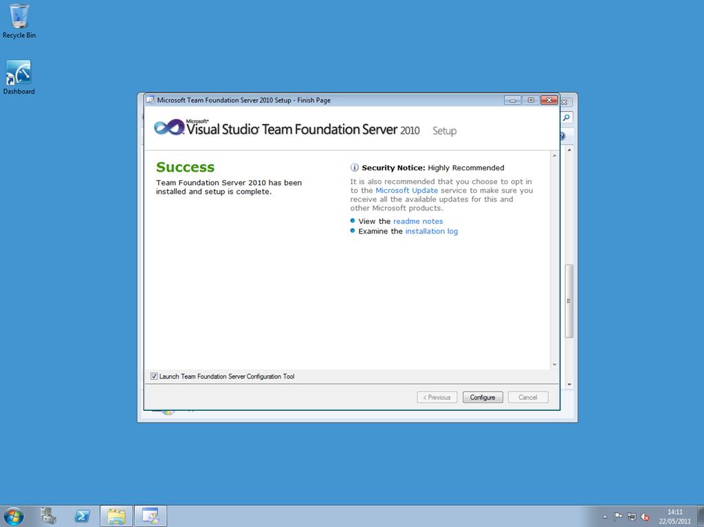 Team Foundation Server – RichHewlett com