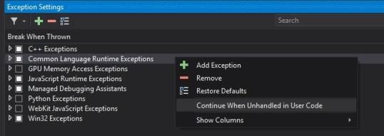 vs2015exceptionssettingsdiag2