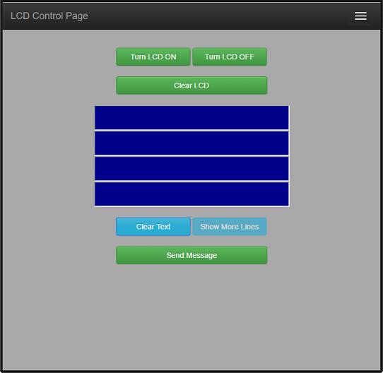 Building a Python Flask Web UI For Raspberry Pi Sure Elec LCD